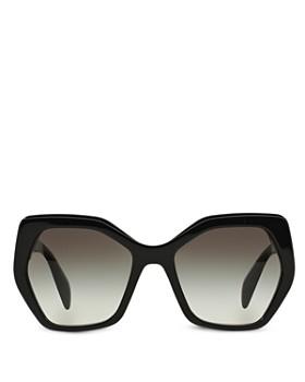 Prada - Women's Oversized Geometric Sunglasses, 56mm