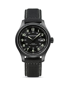 Hamilton Khaki Field Titanium Automatic Watch, 42mm - Bloomingdale's_0