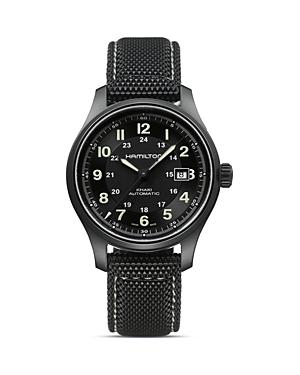 Khaki Field Titanium Automatic Watch