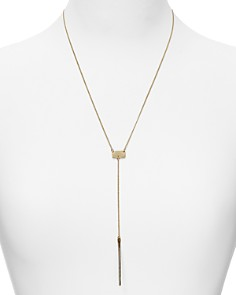 """Phyllis and Rosie - Y Bar Necklace, 20"""""""