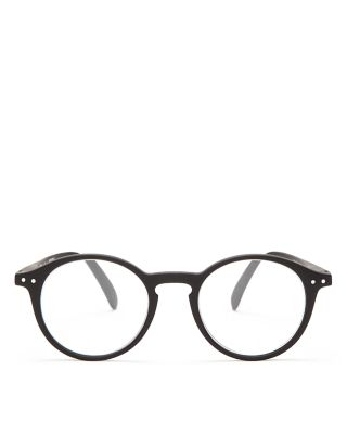 IZIPIZI Collection D Round Readers, 46Mm in Black