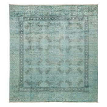 """Solo Rugs - Vibrance Collection Oriental Rug, 8'1"""" x 8'4"""""""
