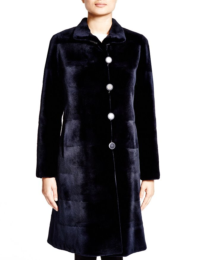 Maximilian Furs - Sheared Kopenhagen Mink Reversible Coat - 100% Exclusive