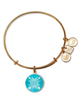 Alex and Ani - Arrows of Friendship Expandable Wire Bangle, Charity By Design Collection