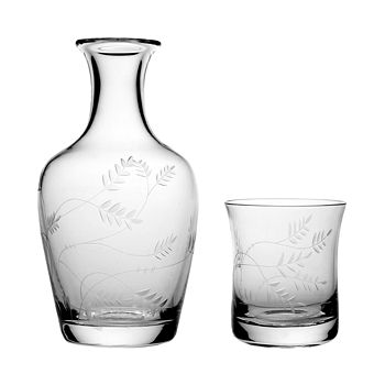 William Yeoward Crystal - Country Wisteria Carafe & Tumbler