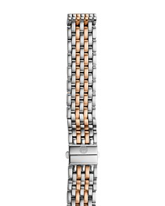 MICHELE Deco 16 Two-Tone Watch Bracelet, 16mm - Bloomingdale's_0