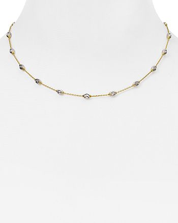 "Officina Bernardi - Beaded Necklace, 16"""