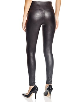 3b8f07e205b0b Faux Leather Leggings - Bloomingdale's