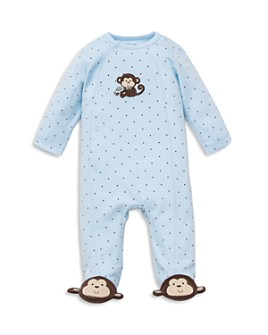 Little Me - Boys' Monkey Star Footie - Baby