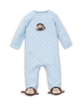 Little Me - Boys' Monkey Star Footie - Baby