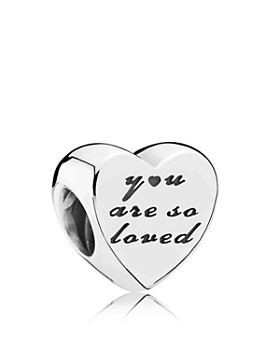 PANDORA - Sterling Silver You Are So Loved Charm