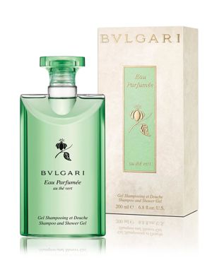 BVLGARI Eau ParfumÉE Au ThÉ Vert Shampoo And Shower Gel 6.8 Oz