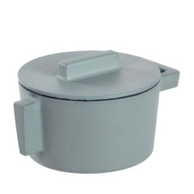 "Terra Cotto 6.25"" Saucepot with Lid"