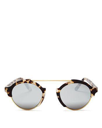 Illesteva - Women's Milan IV Round Sunglasses, 49mm