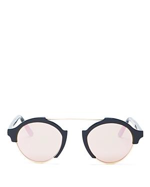 Illesteva Milan Iv Round Sunglasses, 49mm