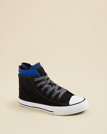 e449f95f20e4 Converse - Boys  Zip Back Chuck Taylor All Star High Top Sneakers - Toddler