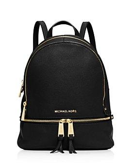 MICHAEL Michael Kors - Rhea Zip Small Leather Backpack
