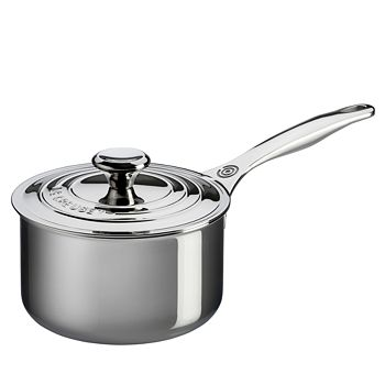 Le Creuset - Stainless Steel 3-Quart Saucepan with Lid