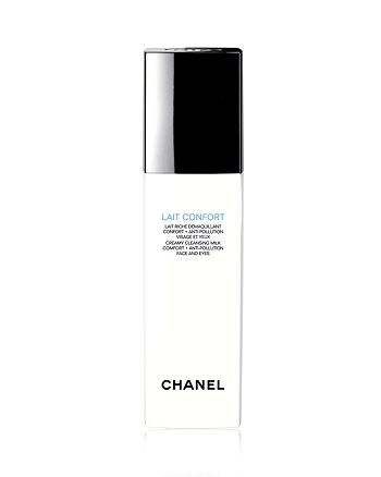 CHANEL - LAIT CONFORT Creamy Cleansing Milk Comfort + Anti-Pollution Face and Eyes