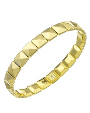 Chimento 18K Yellow Gold Armillas Collection Square Link Bracelet