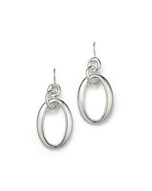 Ippolita Sterling Silver Glamazon Short Oval Link Earrings
