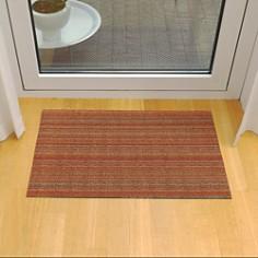 "Chilewich - Skinny Stripe Indoor/Outdoor Shag Mat, 24"" x 36"""
