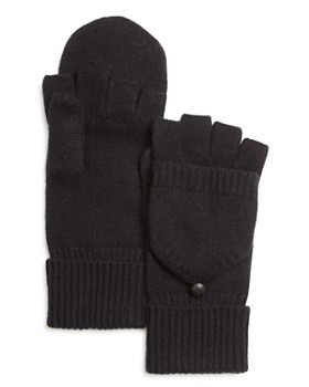 The Men's Store at Bloomingdale's - Pop Top Cashmere Gloves - 100% Exclusive