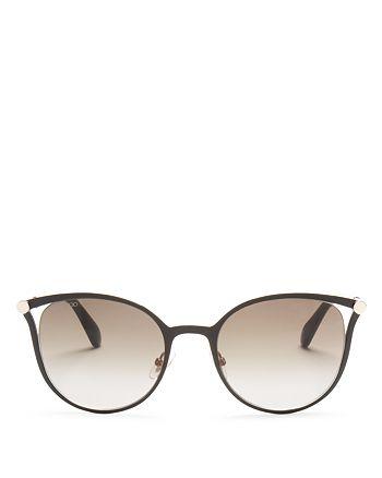 Jimmy Choo - Women's Neiza Cat Eye Sunglasses, 54mm