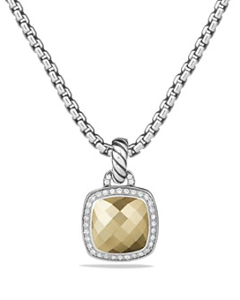 David Yurman - Albion Pendant with Diamonds and 18K Gold