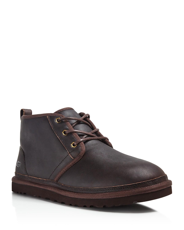 UGG Australia Neumel Leather Chukka Boots