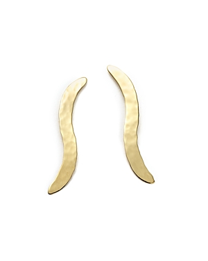 14K Yellow Gold Soft Curve Ear Climbers - 100% Exclusive