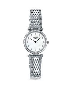 Longines La Grande Classique Watch with Diamonds, 24mm - Bloomingdale's_0