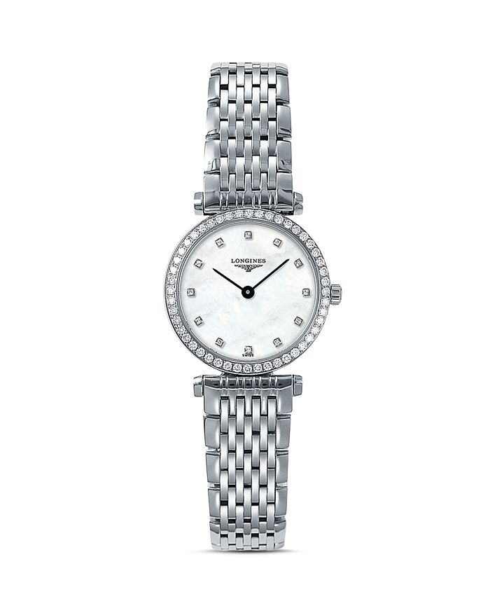 Longines - La Grande Classique Watch with Diamonds, 24mm
