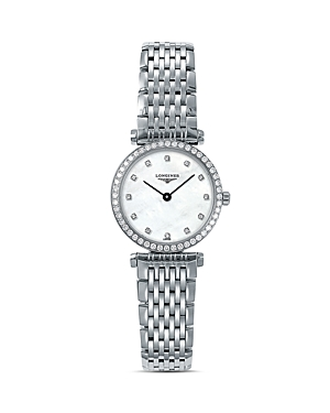 Longines La Grande Classique Watch with Diamonds, 24mm
