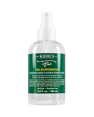 Kiehl's Since 1851 Oil Eliminator Refreshing Shine Control Toner for Men 6 oz.