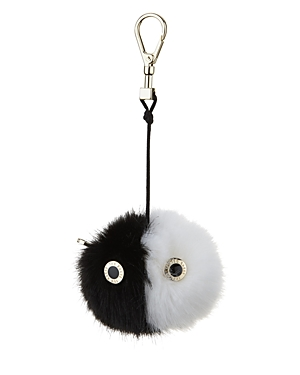 Ted Baker Greta Color Block Faux-Fur Bag Charm