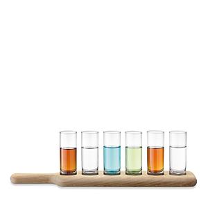 Lsa Oak Paddle & Vodka Set