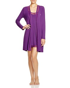 Calvin Klein Naked Touch Robe & Chemise - 100% Exclusive - Bloomingdale's_0