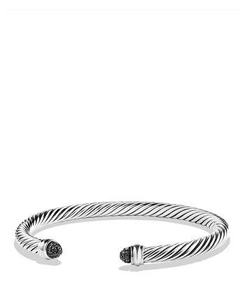 David Yurman - Cable Classics Bracelet with Black Diamonds