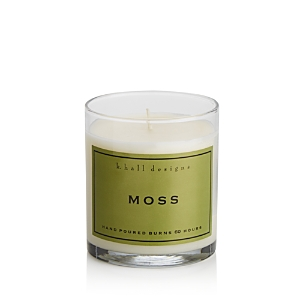 K. Hall Designs Moss Jar Candle