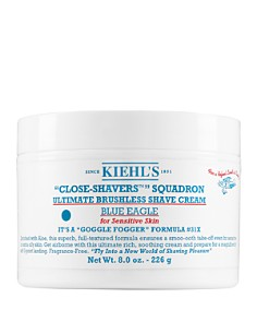 Kiehl's Since 1851 Ultimate Brushless Shave Cream - Blue Eagle 8 oz. Jar - Bloomingdale's_0