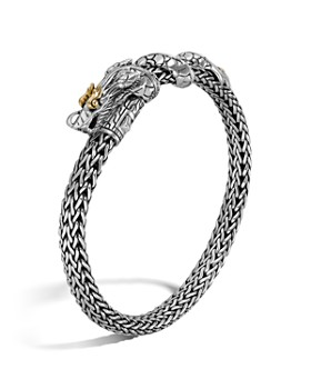 John Hardy - John Hardy Sterling Silver & 18K Gold Naga Dragon Bracelet