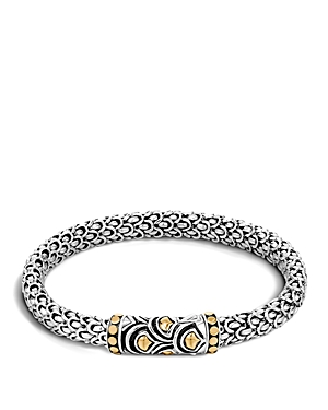 John Hardy Sterling Silver & 18K Bonded Gold Naga Chain Bracelet