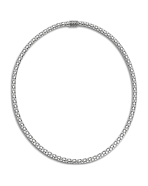 John Hardy Sterling Silver Dot Small Chain Necklace, 18