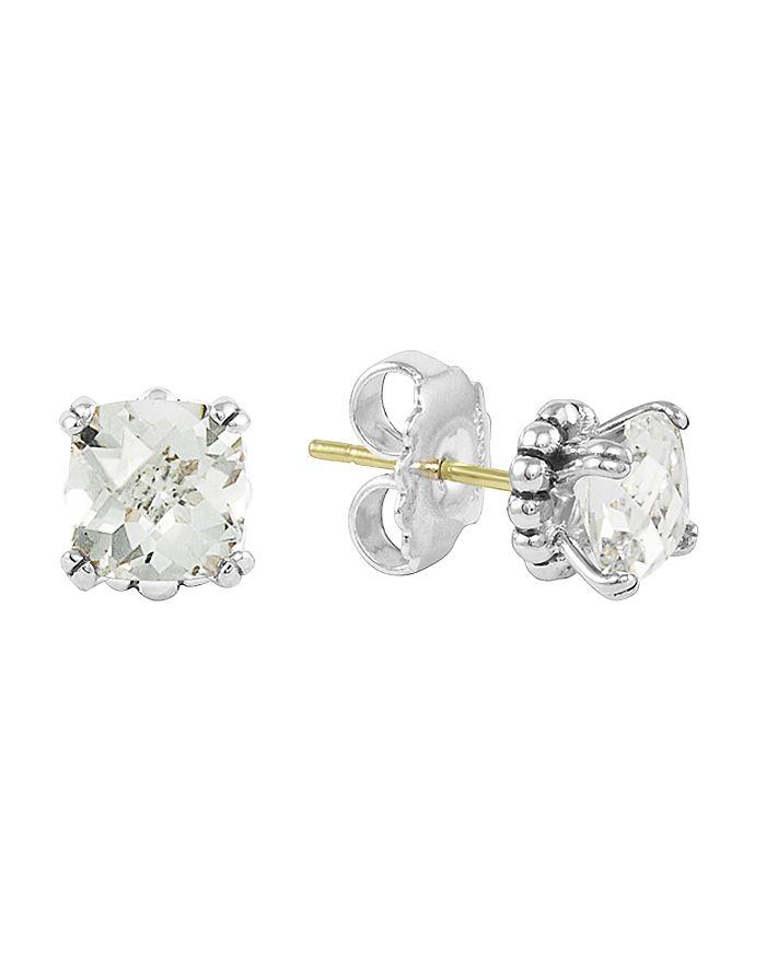 LAGOS - Sterling Silver Prism Gemstone Stud Earrings