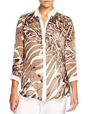 Basler Animal Print Shirt