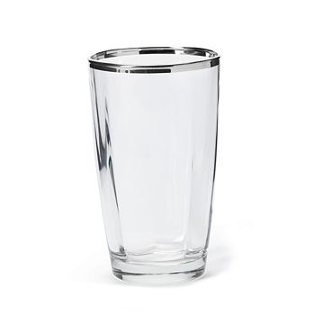 VIETRI - Optical Platinum Highball Glass