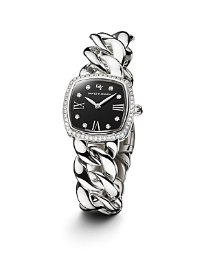 David Yurman Albion Stainless Steel Watch with Diamonds, 23mm