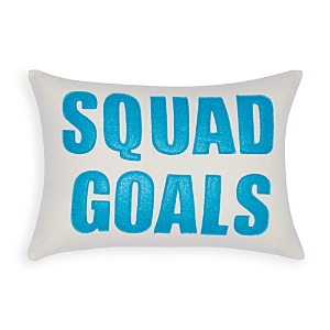Alexandra Ferguson Squad Goals Decorative Pillow, 10 x 14 - 100% Exclusive