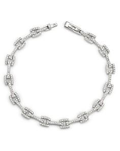 Bloomingdale's - Diamond Link Bracelet in 14K White Gold, 1.50 ct. t.w.- 100% Exclusive